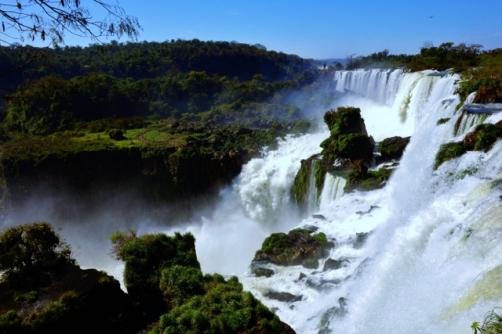 Iguazu Falls (Superior Walkway)