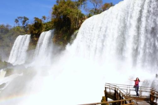 Iguazu Falls (Inferior Walkway)