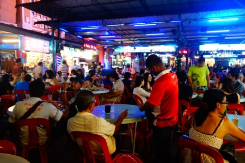 Red Garden Food Paradise in George Town, Malaysia