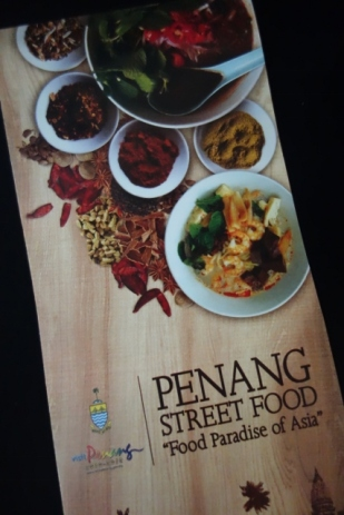 Penang Street Food map (George Town, Malaysia)