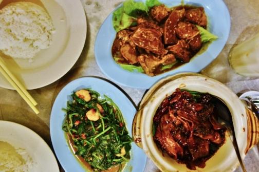 Tek Sen meal (George Town, Malaysia)