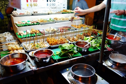Hot Pot food stall (George Town, Malaysia)