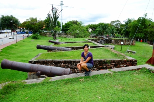 Cannons at Fort Cornwallis (George Town, Malaysia)