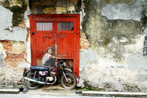 Street art, George Town (Penang, Malaysia)