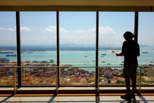 View of Penang Island from Komtar Tower (George Town, Malaysia)