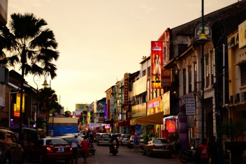 Sunset over George Town (Penang, Malaysia)