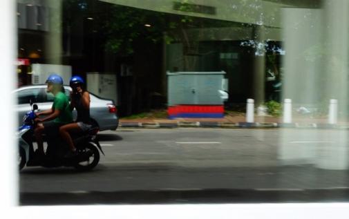 Motorcyling around the Penang (Malaysia)