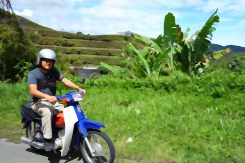 Motorcycling around the Cameron Highlands, Malaysia