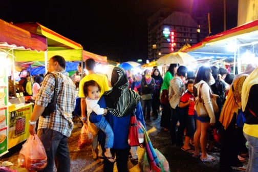 Saturday night market in Brinchang (Cameron Highlands, Malaysia)